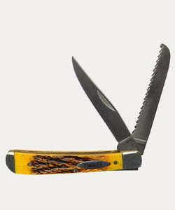NOBLE OUTFITTERS TRAPPER KNIFE - STYLE #40014 - BONE