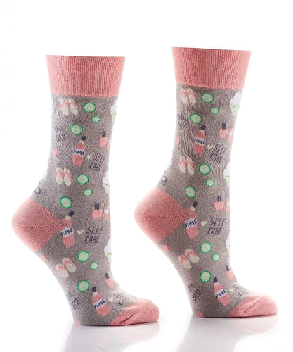 Gift Craft Women's Spa Day Crew Sock- Style #412131