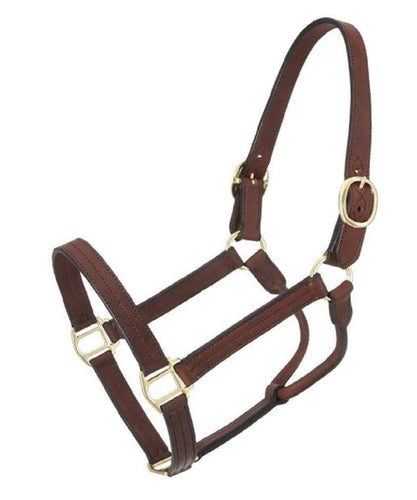 Royal King Leather Track Halter- Style #44-2046