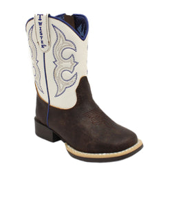 M&F Western Toddler Twister Joshua Brown Boot- Style #4413102