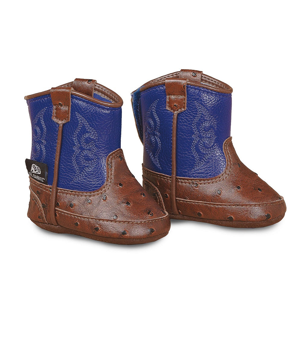 M&F Western Infant Double Barrel Baby Bucker Booties- Style #4421027