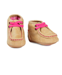 M&F WESTERN BABY/INFANT BLAZIN ROXX BUCKER REAGAN SHOE- STYLE #4422808