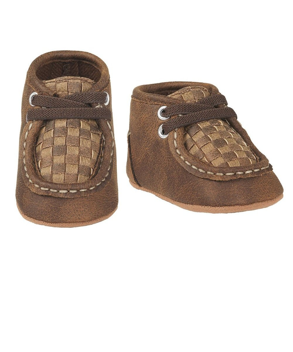 M&F Western Children's Double Barrel Carson Baby Bucker Chukkas- Style #4424802