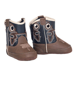 M&F Western Infant Double Barrel Baby Bucker Trace Boot- Style #4429202