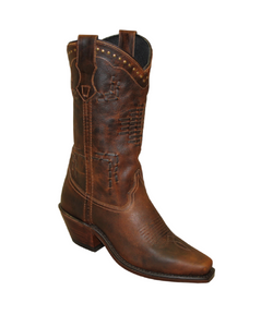Sage Women's Antiqued Hand Laced Design Boot- Style #4513