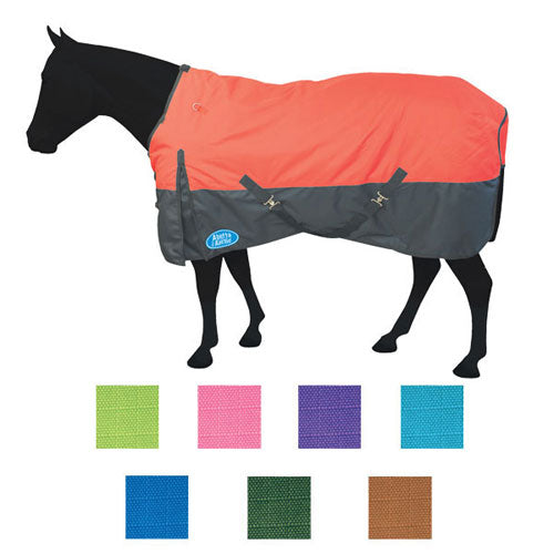 RED TURN-OUT HORSE BLANKET- STYLE #465-1200D-RED
