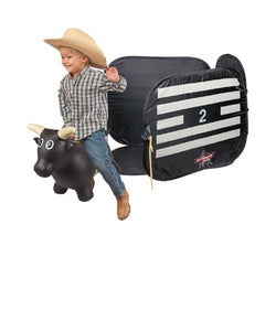 Big Country Farm Toys Kids' Lil Bucker Bull & PBR Chute- Style #468