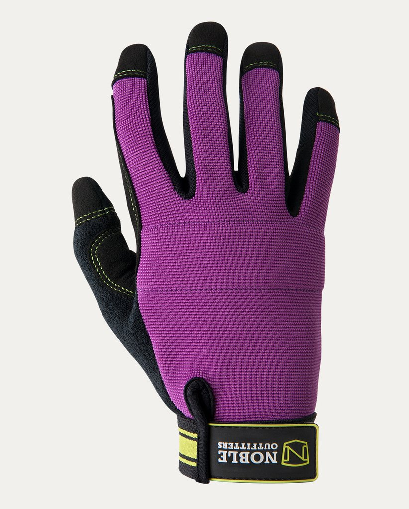 NOBLE OUTFITTERS OUTRIDER GLOVE- STYLE #51000 BLKBRY