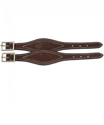 Shaped Leather Hobble Straps- Style #56-1133-82