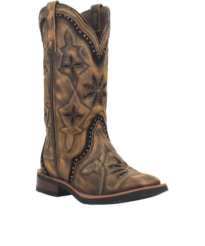 Laredo Women's Bouquet Square Toe Boot- Style #5844