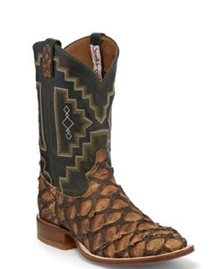 Tony Lama Men's Leviathan Chocolate Boot- Style #6082