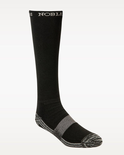 NOBLE OUTFITTERS BEST DANG BOOT SOCK- STYLE #61001 BLK