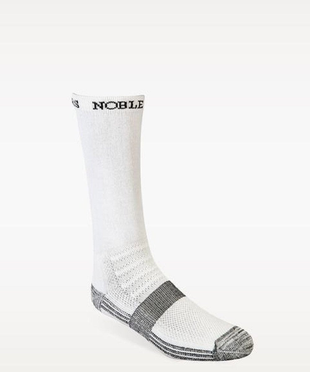 NOBLE OUTFITTERS BEST DANG BOOT SOCK- STYLE #61002 WHT