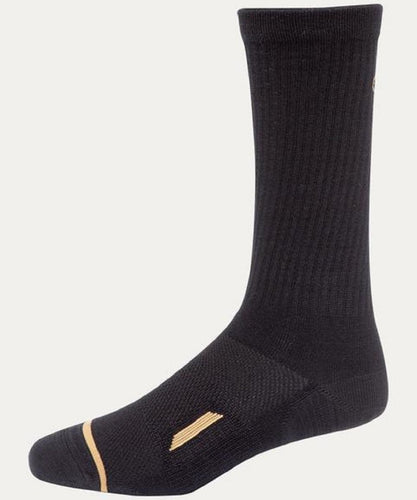 NOBLE OUTFITTERS ALL AROUND 2.0 CREW SOCK- STYLE #61016 BLK