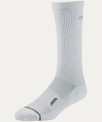 NOBLE OUTFITTERS ALL AROUND 2.0 CREW SOCK- STYLE #61016 WHT