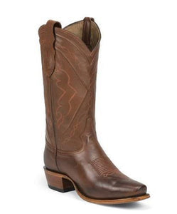 TONY LAMA MEN'S TAN JERSEY CALF EL PASO COLLECTION BOOT- STYLE #6104C