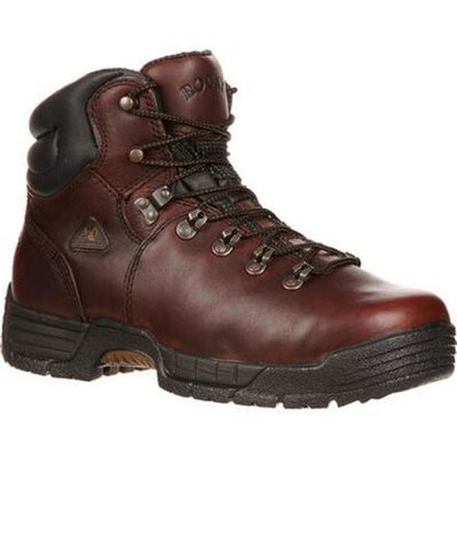 Rocky Men's Mobilite Steel Toe Waterproof Work Boots- Style #6114