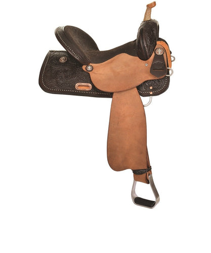 Circle Y High Horse Eden Barrel Saddle- Style #6225-7501-05