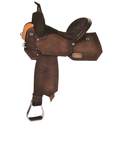 Circle Y Yoakum Leona Barrel Saddle- Style #6230-R40C-05