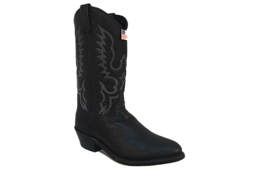 Abilene Men's Genuine Bison Leather Boot- Style #6405