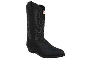 ABILENE MEN'S  GENUINE BISON LEATHER BOOT-STYLE #6405