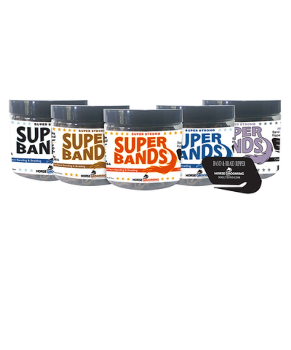Super Bands- Style  #652-6 BLK