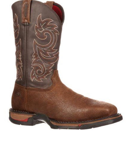 Rocky Men's Long Range Waterproof Steel Toe Pull On Boot- Style #6654