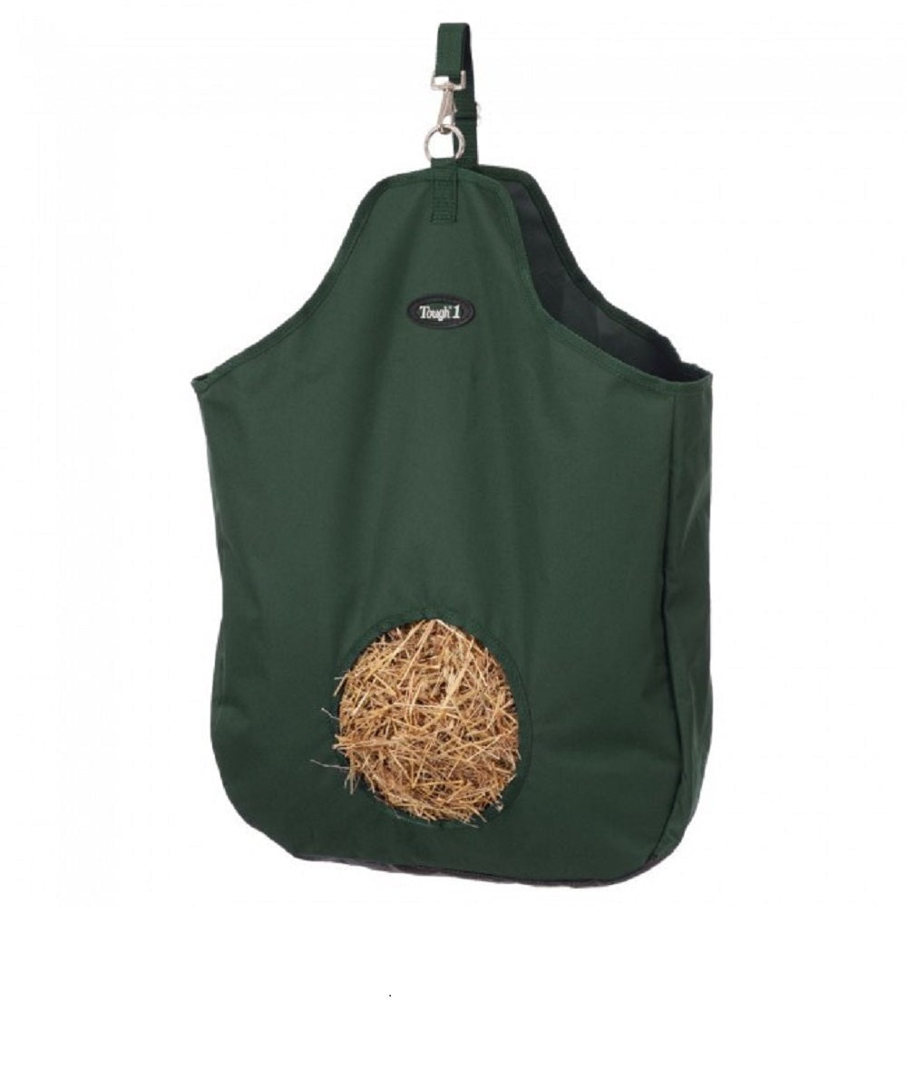 Tough-1 Hunter Green Tough Nylon Tote Hay Bag- Style #72-1816 HUN