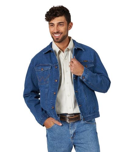 Wrangler Men's Unlined Denim Jacket- Style #74145mi