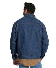 Wrangler Men's Concealed Carry Unlined Denim Jacket- Style #74265VW-VINTAGE WASH