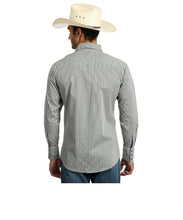 Wrangler Men's Silver Edition Snap Shirt- Style #75786GY