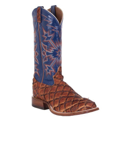 Tony Lama Men's Leviathan Chocolate Piraruca Boot- Style #8264