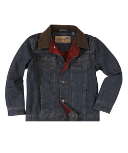 Wrangler Boys' Blanket Lined Denim Jacket- Style #84265RT