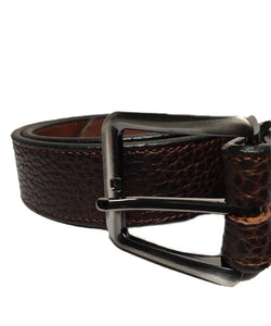 Gingerich Men's Bison Leather Belt- Style #8750-14