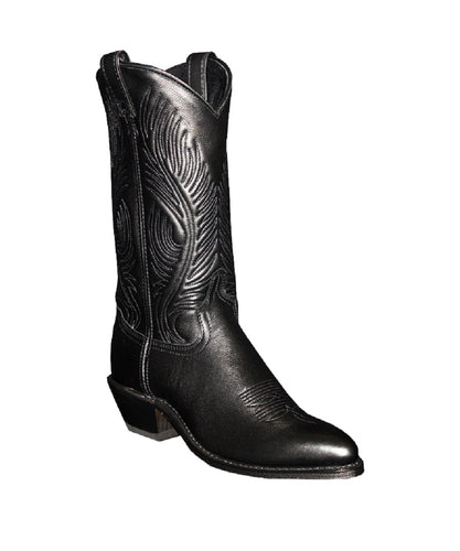 Abilene Women's Black Dress Cowhide Leather Boot- Style #9050