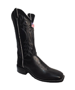 Abilene Women's Black Square Toe Boot- Style #9183