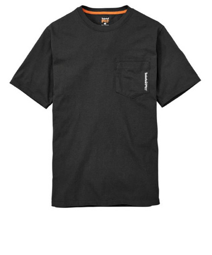 Timberland Men's Pro Short Sleeve Base Plate Wicking Tee- Style #A1HNS-BLACK