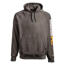Timberland Men's PRO Hood Honcho Sport Dark Charcoal Heather Hoodie- Style #A1HVY