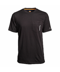 Timberland Men's Pro Short Sleeve Base Plate Wicking Tee- Style #A1OZ4-BLACK