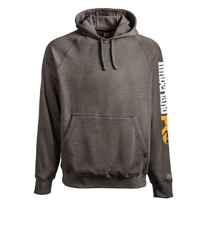 Timberland Men's Big & Tall Hood Honcho Dark Charcoal Heather Sport Hoodie- Style #A1V6