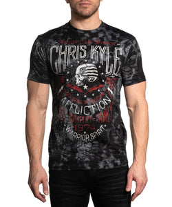 Affliction Men's Chris Kyle Long Range Tee- Style #A22583