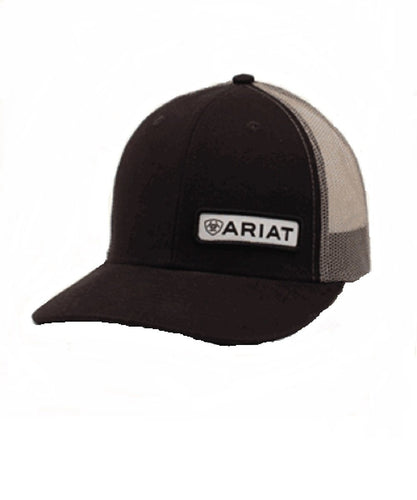 M&F WESTERN MEN'S ARIAT BLACK BALL CAP- STYLE #A300000501