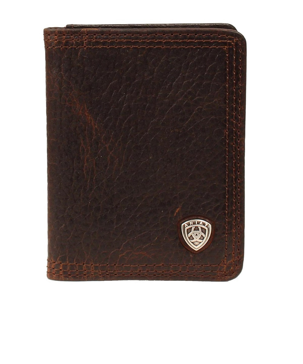 M&F Western Men's Ariat Performance Work Bifold Wallet- Style #A35120282