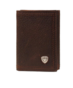 M&F Western Men's Ariat Performance Work Trifold Wallet- Style #A35122282