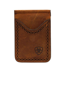 M&F Western Men's Ariat Premium Bifold Money Clip Wallet- Style #A3513044