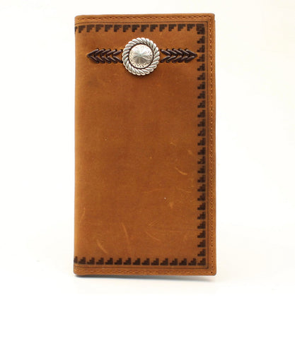 M&F Western Men's Ariat Western Concho Aztec Rodeo Style Wallet- Style #A3539144