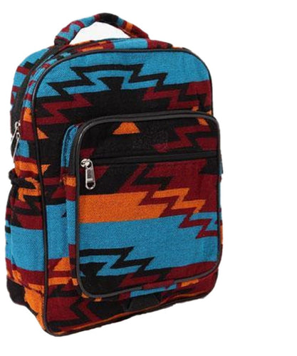EL PASO SADDLEBLANKET COMPANY NEW WEST BACKPACK - STYLE #APACKTQ