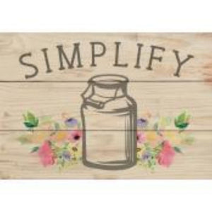 P GRAHAM DUNN SMALL WOOD SIGN- STYLE #ARS0-105SIMPLIFY