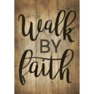 P. GRAHAM DUNN SMALL WOOD  SIGN - STYLE #ARS0-111 WALKBYFAITH