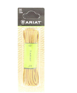 "M&F Western Ariat 72"" Gold Waxed Laces- Style #A2301275  72"